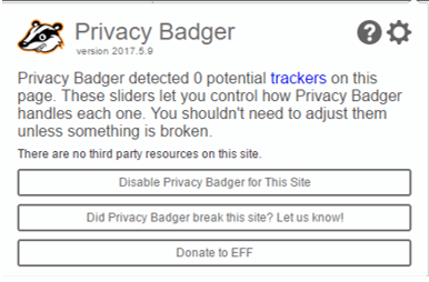 vip72 privacy badger