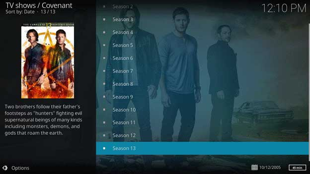 How to Watch Supernatural without Cable Streaming On Kodi