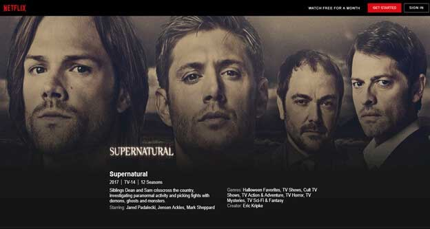 How to Watch Supernatural in Netflix
