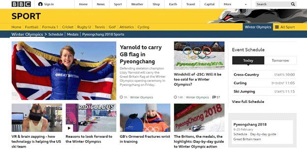 how to watch Winter Olympics BBC Sport Stream