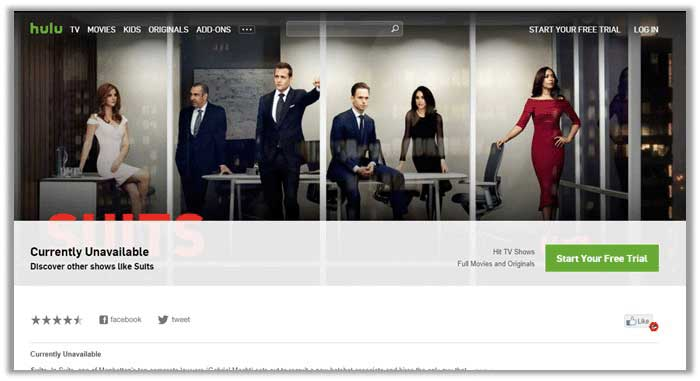 How to Watch Suits Live Online on Hulu