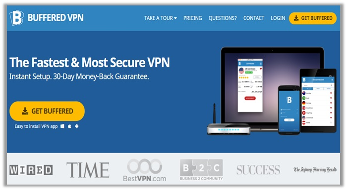 Buffered VPN for USA