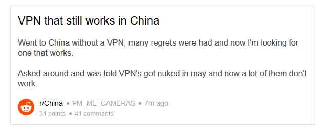 List of 5 Best VPNs for China that Really Bypass the Great