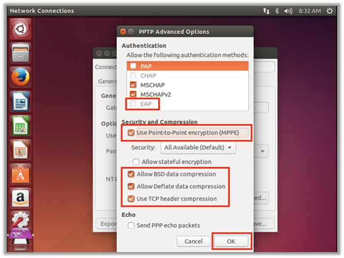 ubuntu connect to vpn