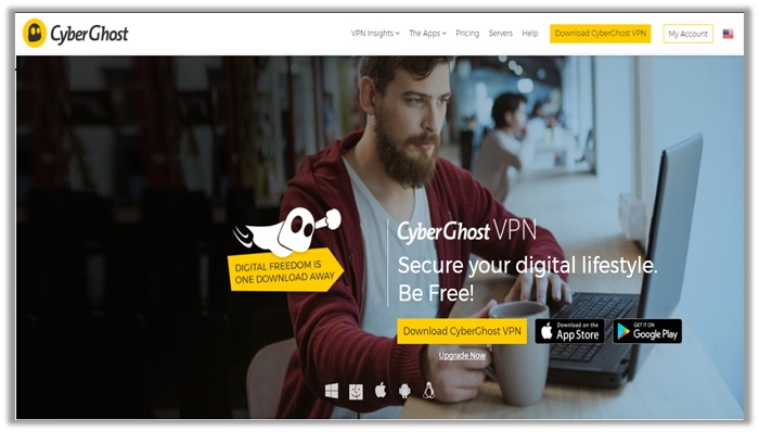 CyberGhost VPN for Russia