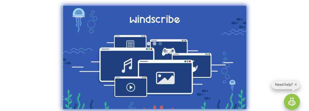 Windscribe VPN for Opera Browser