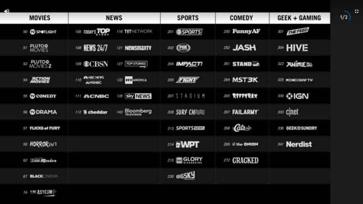 how to watch Pluto TV Missing Channels