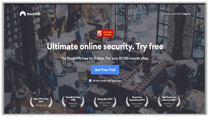 NordVPN Free Trial - 7 Days Free Trial and Then Pay Only $2 99/Month