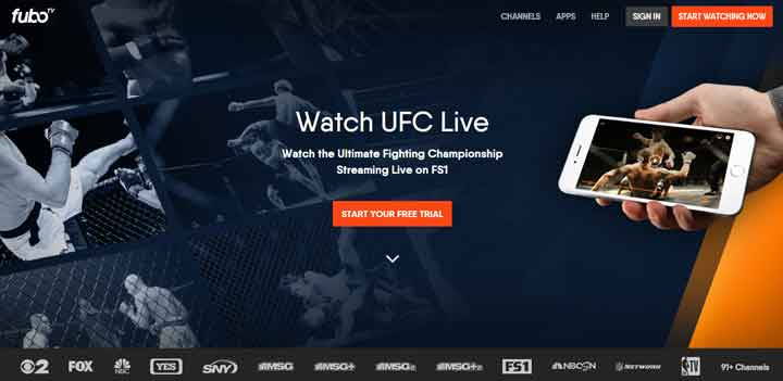 fubotv for ufc firestick