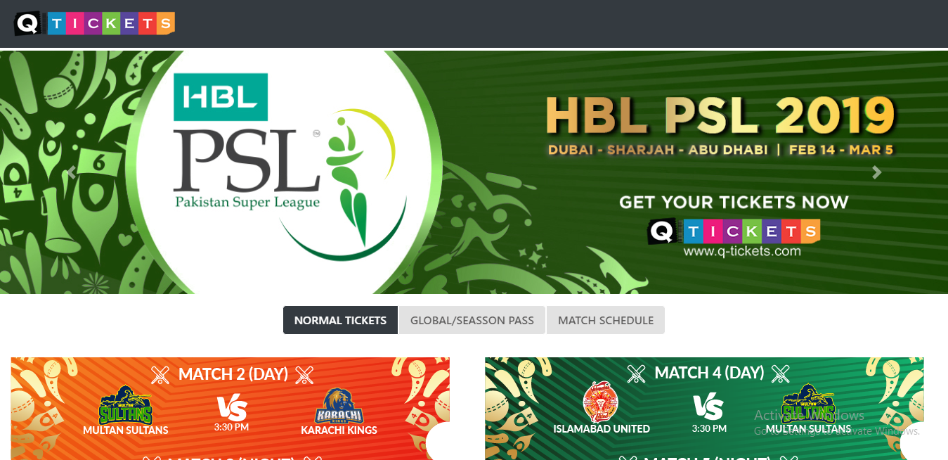 psl 2019 tickets