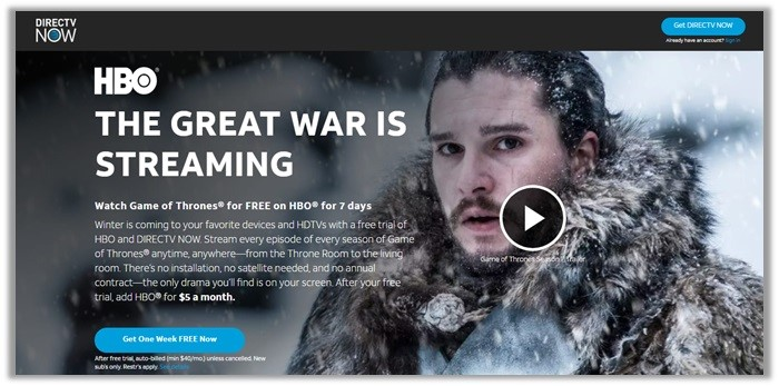 How To Watch Game of Thrones Live Online | 13+ Streaming
