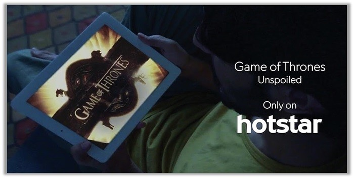 game of thrones hotstar ipad