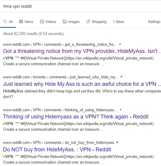 HMA VPN Reddit Reviews