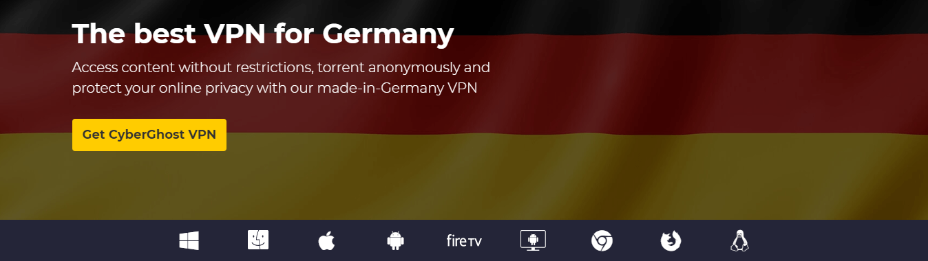 Cyberghost VPN for Germany
