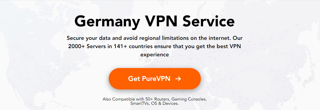 PureVPN for Germany