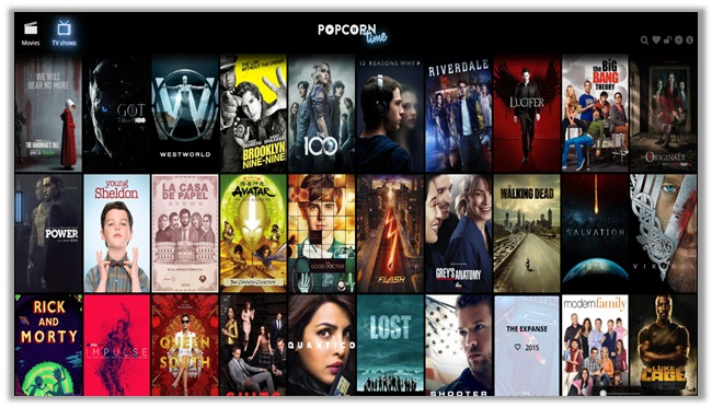 watch movies and tv shows online with popcorn time