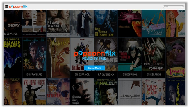 watch movies and tv shows online with popcornflix
