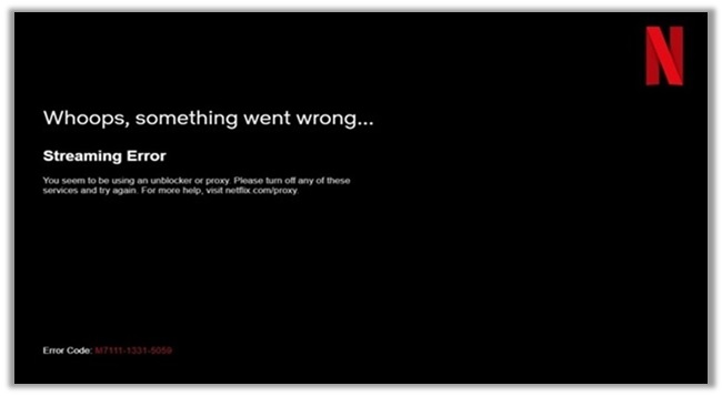 Netflix Streaming Error