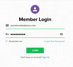 Log in to purevpn member account