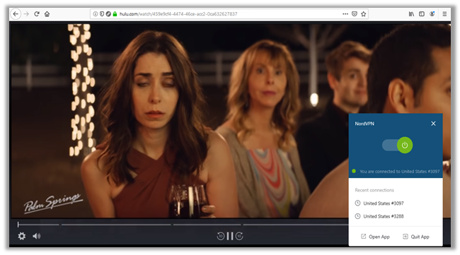 Watch Hulu with NordVPN